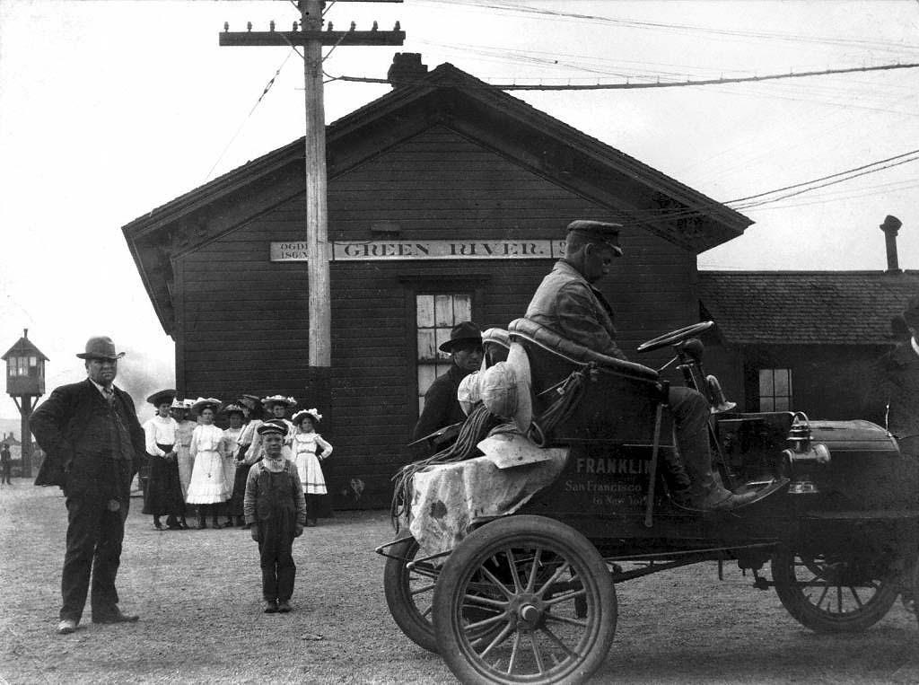 Green River Station, 1904. Courtesy of Mark H. Chaplin.
