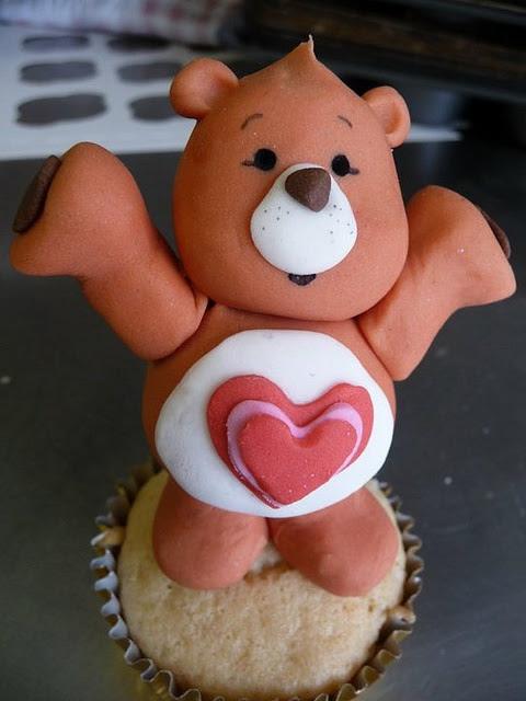 Tenderheart Bear Cupcake