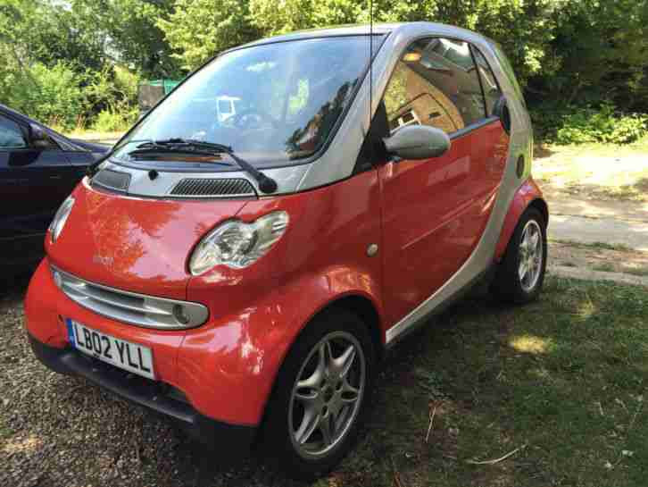 Smart Fortwo Passion 0.6 2002 SPARES OR REPAIR. car for sale