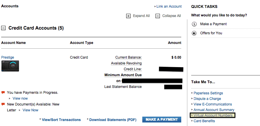 How to Create a Citi Virtual Account Number - MileValue