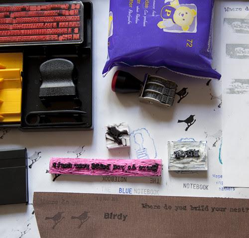 Experiments Ink Book Cloth