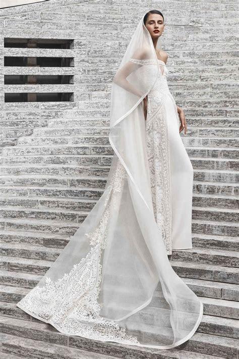 naeem khan bridal fall  wedding dresses fashion