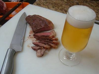 carne e bebida