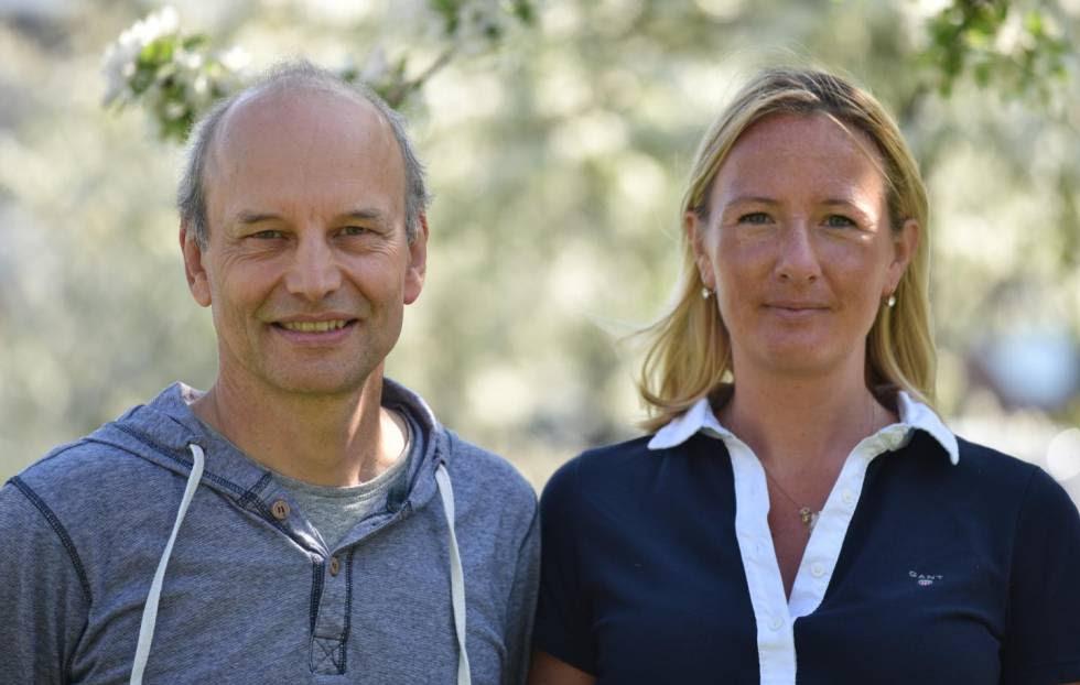 Peter Eklöv y  Oona Lönnstedt.