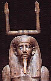 Estatua que representa la energía vital o Ka.