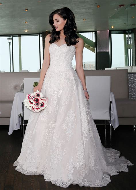 Ballgown Bridal Wedding Dress by Oleg Cassini NY, NJ