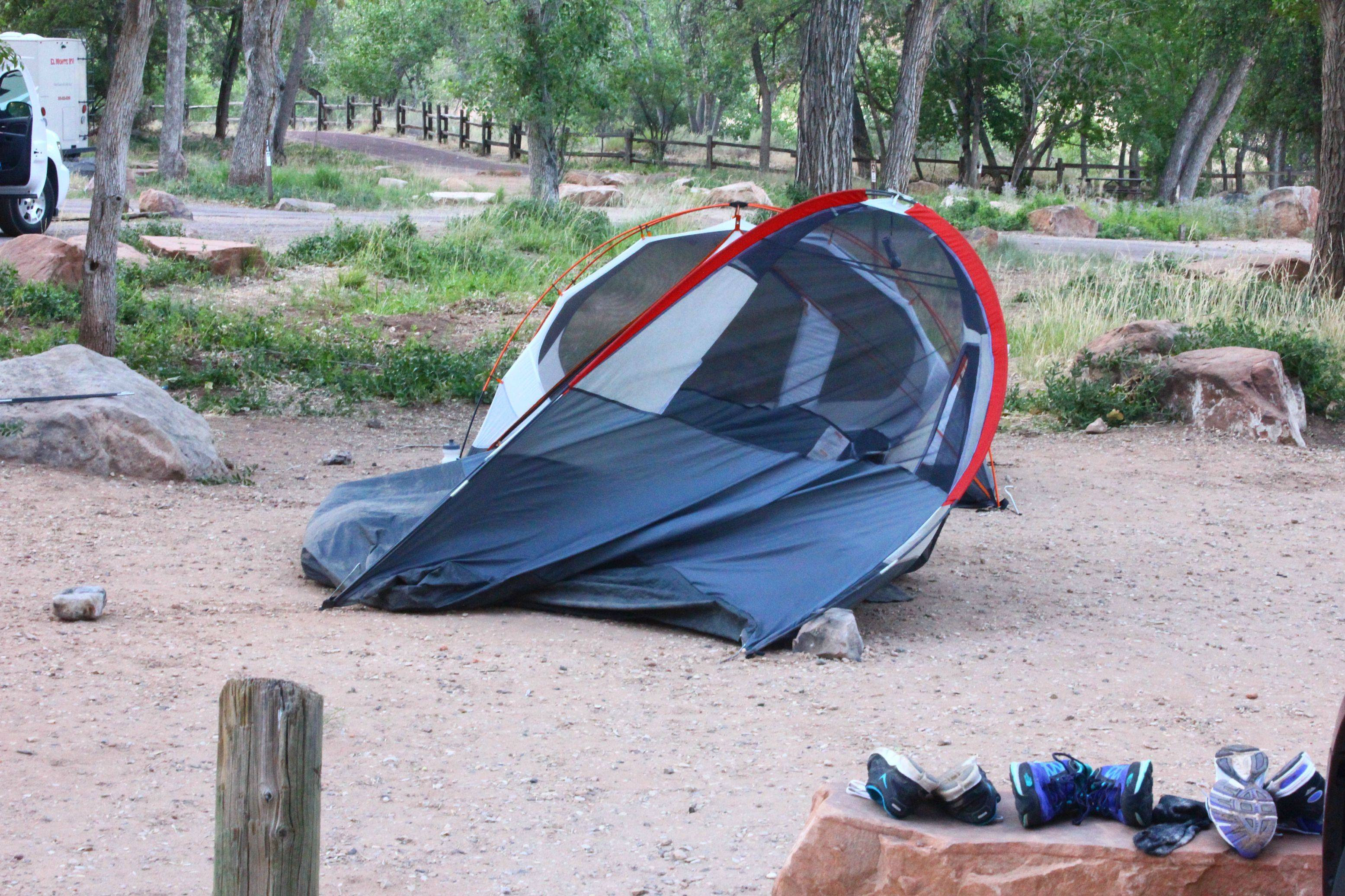 Windy Camping Images