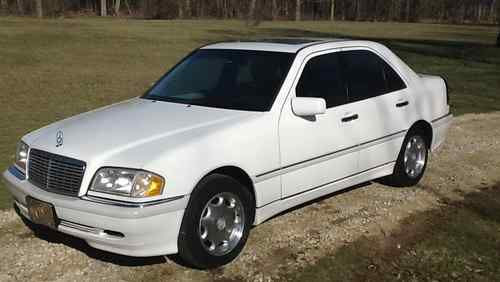 Sell used 1999 Mercedes-Benz C280 Base Sedan 4-Door 2.8L ...