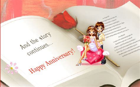 Happy Wedding Anniversary Gif Images   9To5Animations.Com