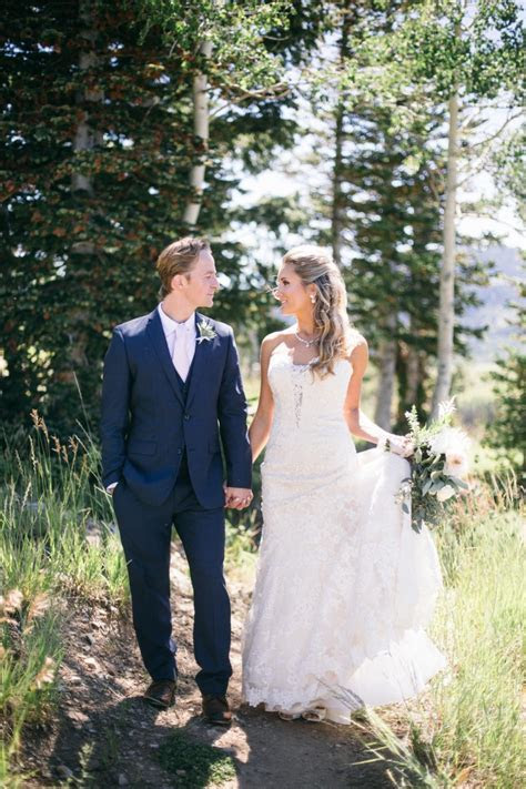 Soft Pink Utah Wedding at Montage Deer Valley   MODwedding