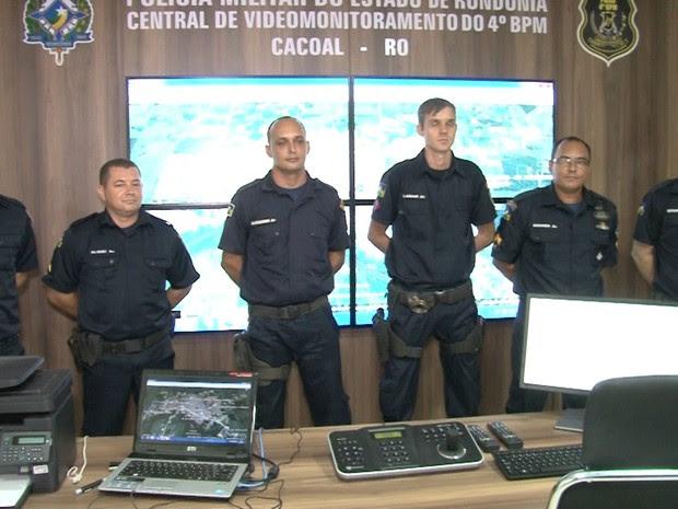 Policiais irão operar o novo sistema de videomonitoramento (Foto:  Assessoria/Divulgação)