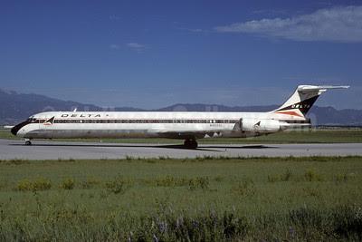 Delta Air Lines McDonnell Douglas MD-88 N992DL (msn 53344) COS (Bruce Drum). Image: 102681.