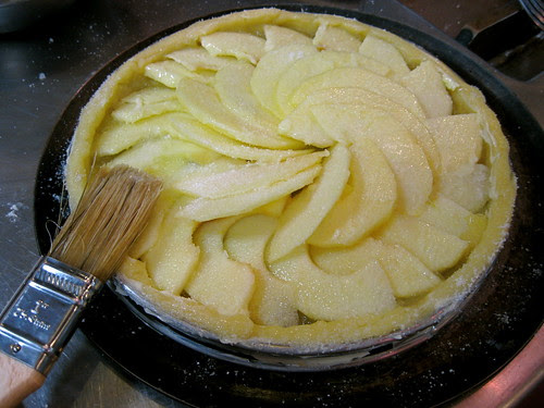 Apple Tart - before baking