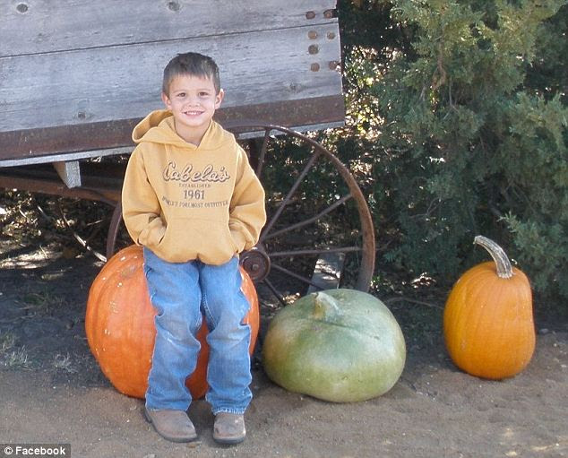Tragic: Gavin was rushed to the local hospital and airlifted to Wichita from there but still did not survive