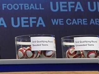 Φωτογραφία για Καλή κλήρωση για τις ελληνικές ομάδες στο Europa League στον τρίτο γύρο
