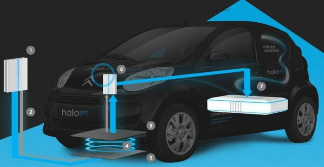 wireless electric vehicle charging