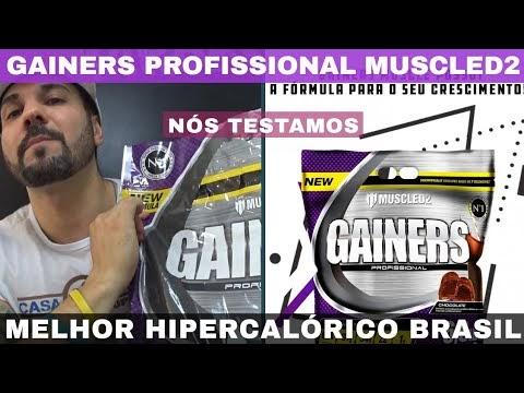 HIPERCALÓRICO GAINERS MUSCLED2 O Melhor Hipercalórico Brasileiro da Atualidade Bom e Barato