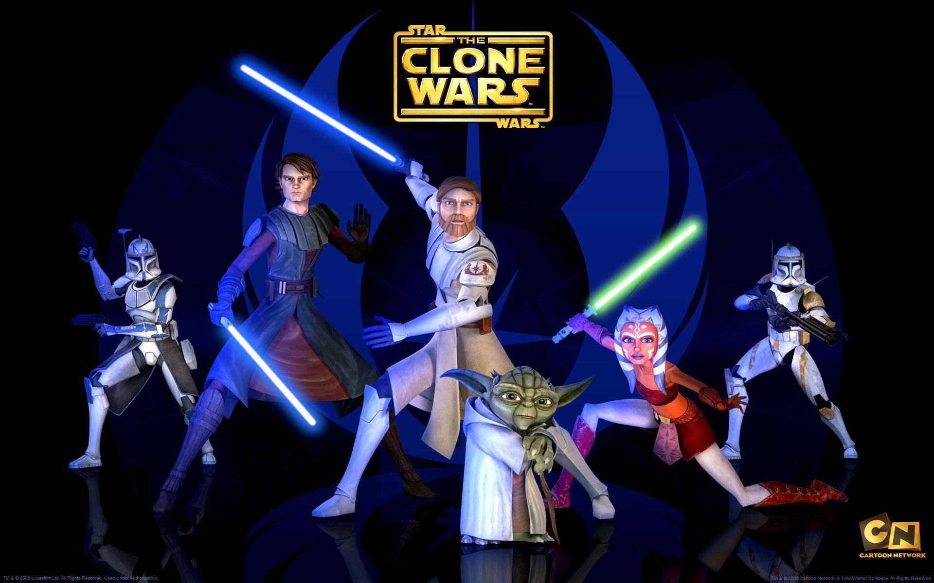 Jedi Masters From The Clone Wars Desktop Wallpaper