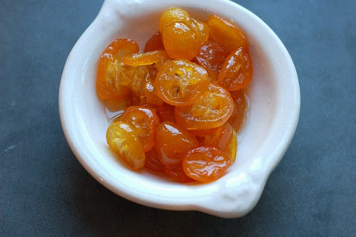 Candied kumquats by Eve Fox, Garden of Eating blog, copyright 2013