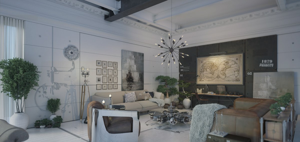 Don T Be Afraid Of The Dark 4 Lovely Homes With Strong Grey Accents