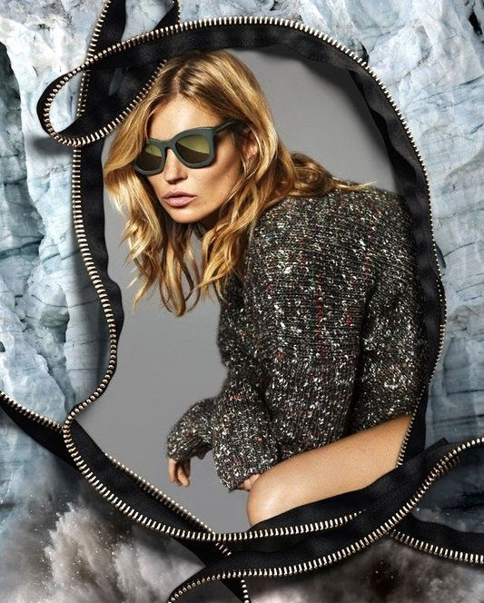 Le Fashion Blog Kate Moss Stella McCartney FW 2014 Ad Campaign Matte Mirrored Sunglasses Asymmetrical Melange Sweater photo Le-Fashion-Blog-Kate-Moss-Stella-McCartney-FW-2014-Ad-Campaign-Matte-Mirrored-Sunglasses.jpg