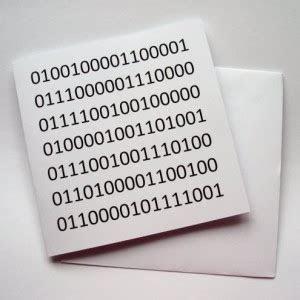 Say happy birthday in binary