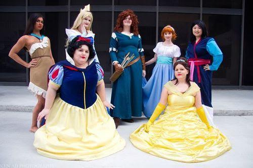 Modern Disney Princess Cosplay