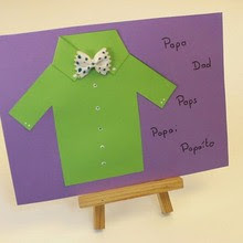 Shirt Father's Day Card For Dad