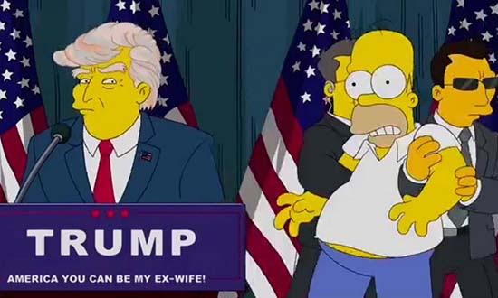 Los Simpson predicen el futuro