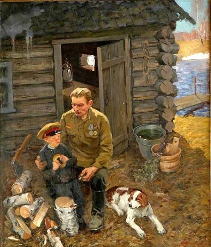 Картины о Великой Отечественной войне. Часть 11. (19 фото)