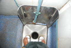 The Indian Railway Toilet in the Train by firoze shakir photographerno1