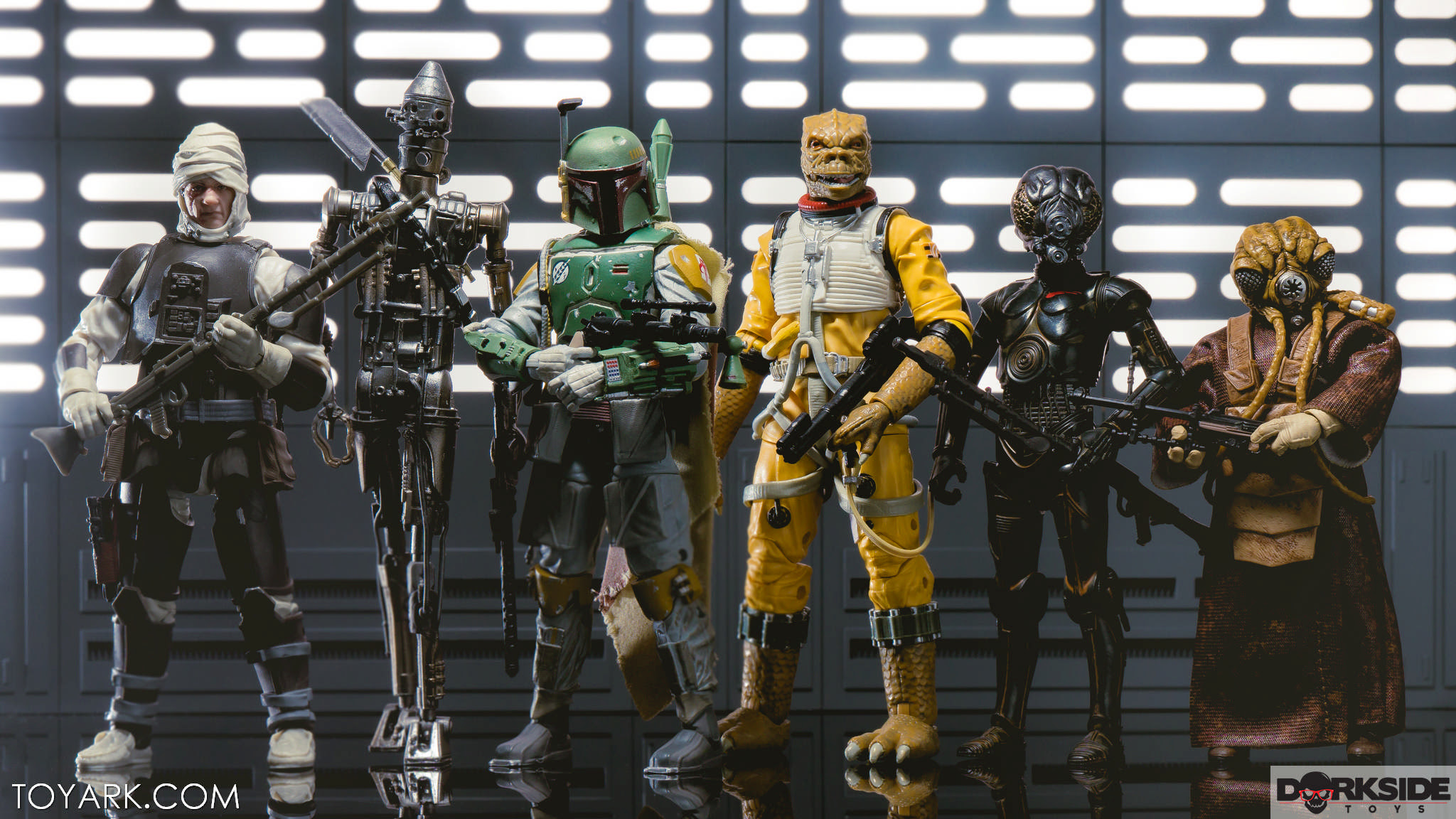 Star Wars Black Series Zuckuss And Dengar Gallery Bounty Hunters