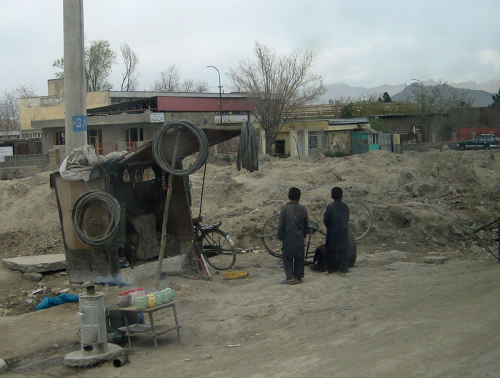 Afghan Bike Shop