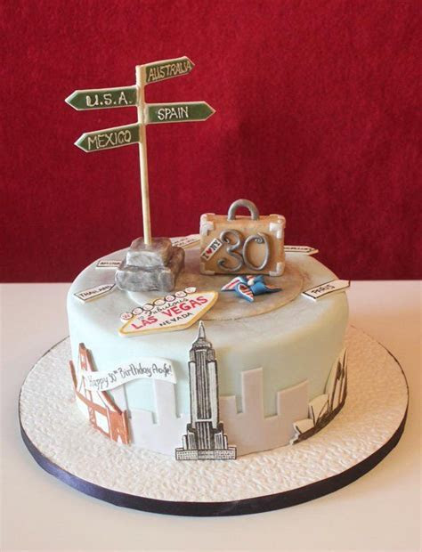 25  best ideas about Travel cake on Pinterest   Map cake
