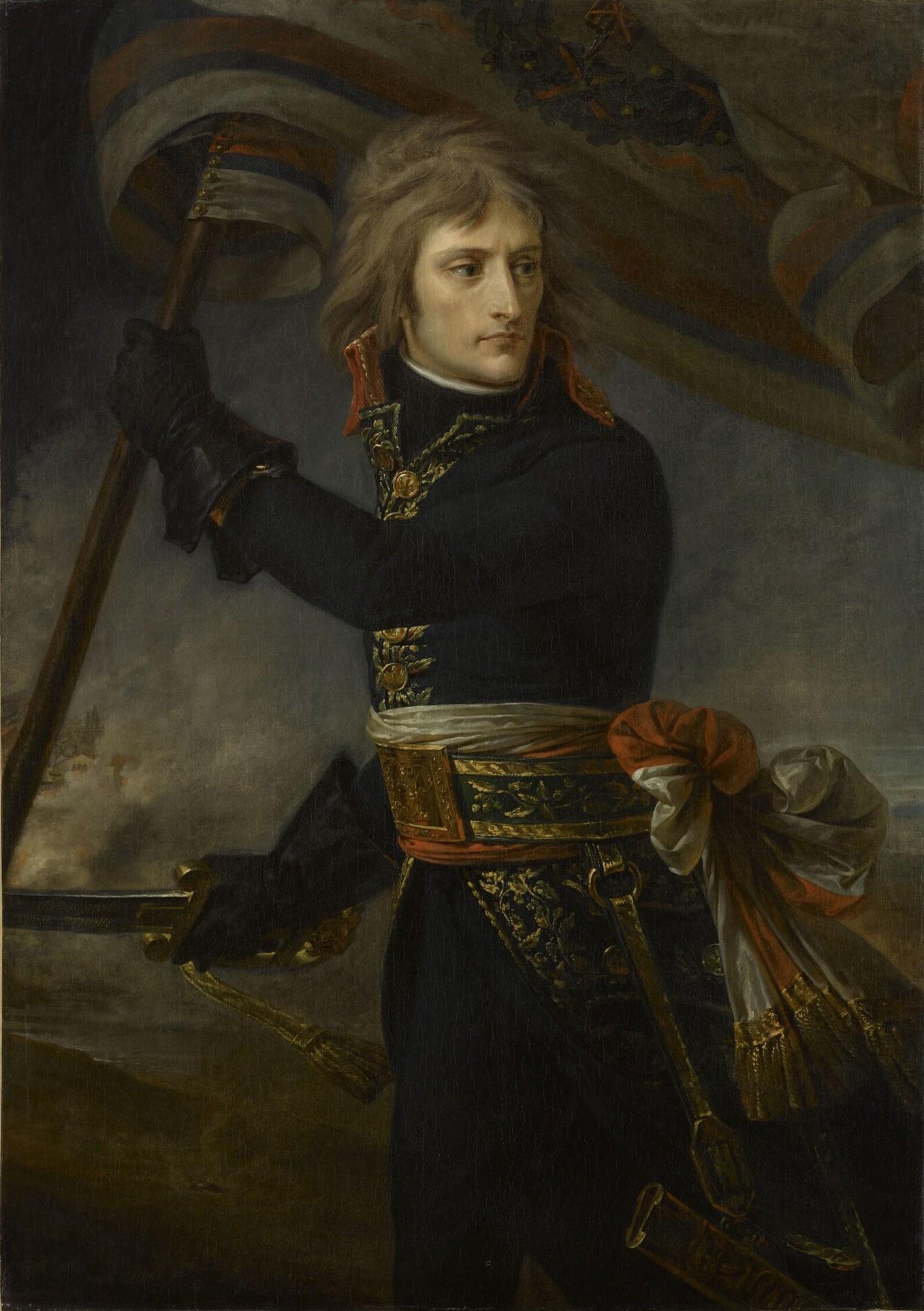 1801 Antoine-Jean Gros - Bonaparte on the Bridge at Arcole.jpg