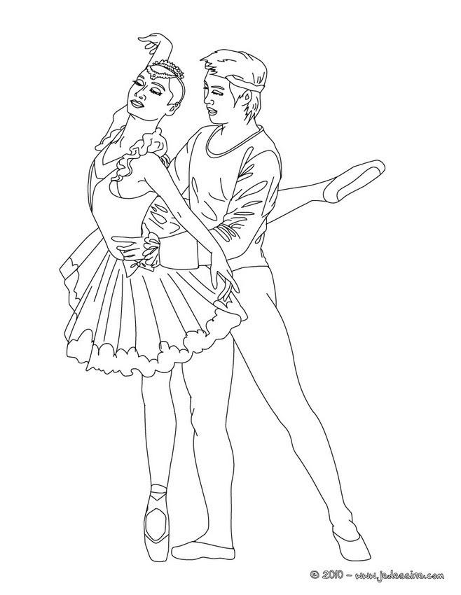 Ballerine Danseuse Dessin Colorier Les Enfants Marnfozinecom