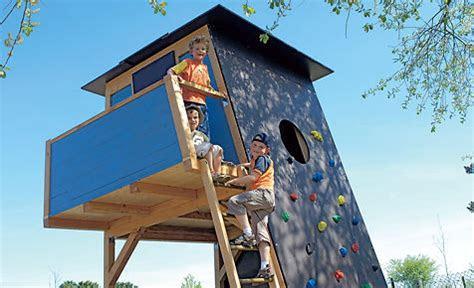 kletterhaus selber bauen selbstde