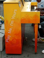 Play Me I'm Yours Piano @ Times Square