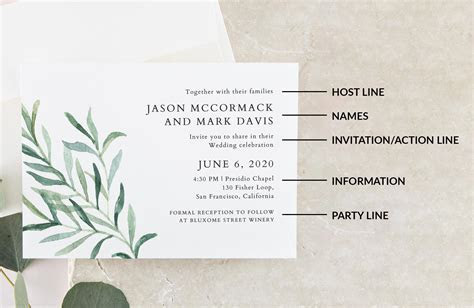 Wedding Invitation Wording: Formal, Modern & Fun   A