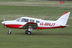 G-BNJT - 1981 build Piper PA-28-161 Cherokee Warrior II, visiting Barton