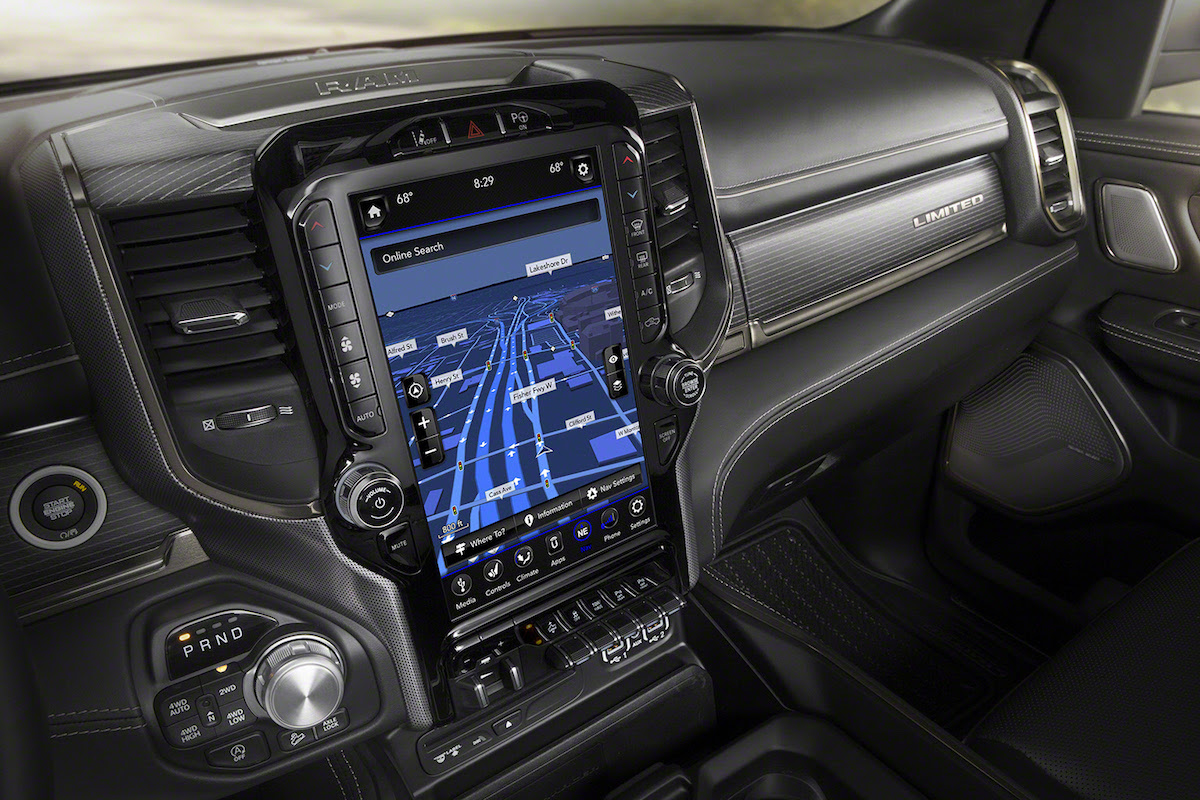 2019-ram-1500-limited-infotainment - The Fast Lane Truck