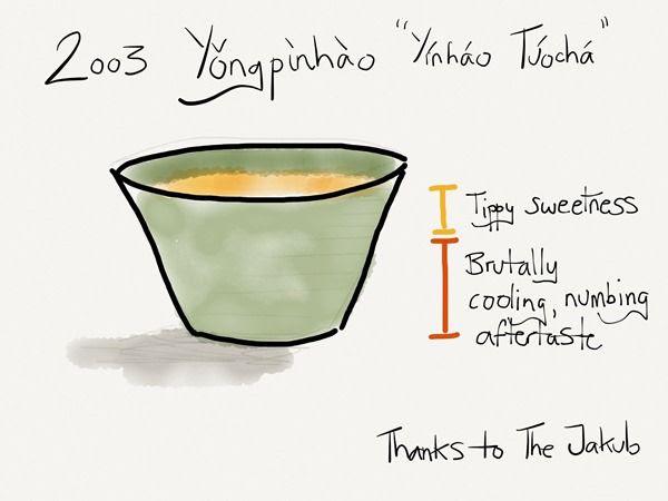 2003 Yongpinhao Tuocha