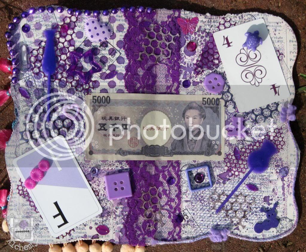 purple color art journal
