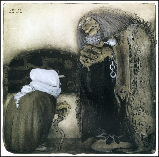 John Bauer - Illustration 14