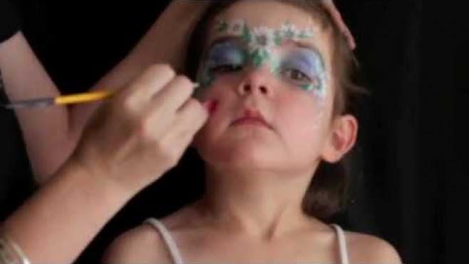 Papatya Desenli Yüz Boyama Nasıl Yapılır
