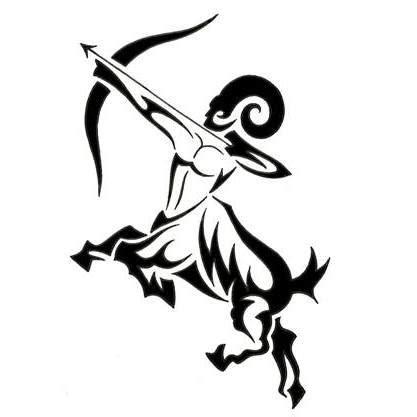 aries  sagittarius tattoo design tattoowoocom