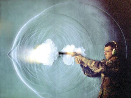 high speed of bullet
