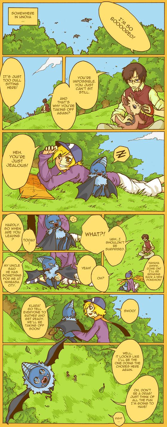 Pokemon BW ADVENTURE TIME by Kiqo7 on DeviantArt