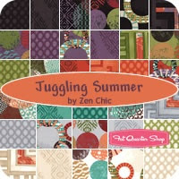 Juggling Summer Yardage Zen Chic for Moda Fabrics