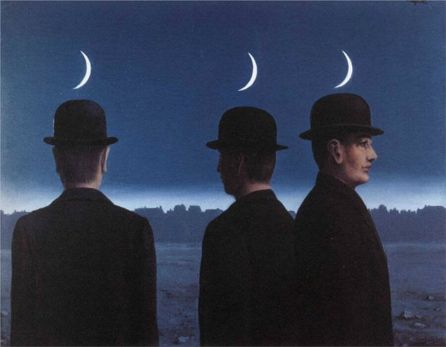 The Mysteries of the Horizon, 1955 by Rene Magritte